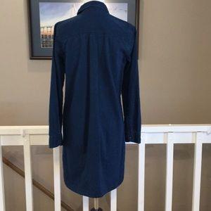 Old Navy Dresses - Old Navy Long sleeve Denim Dress Size Small EUC